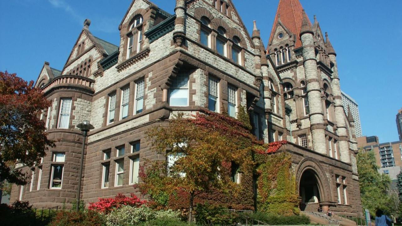 Victoria College at the University of Toronto