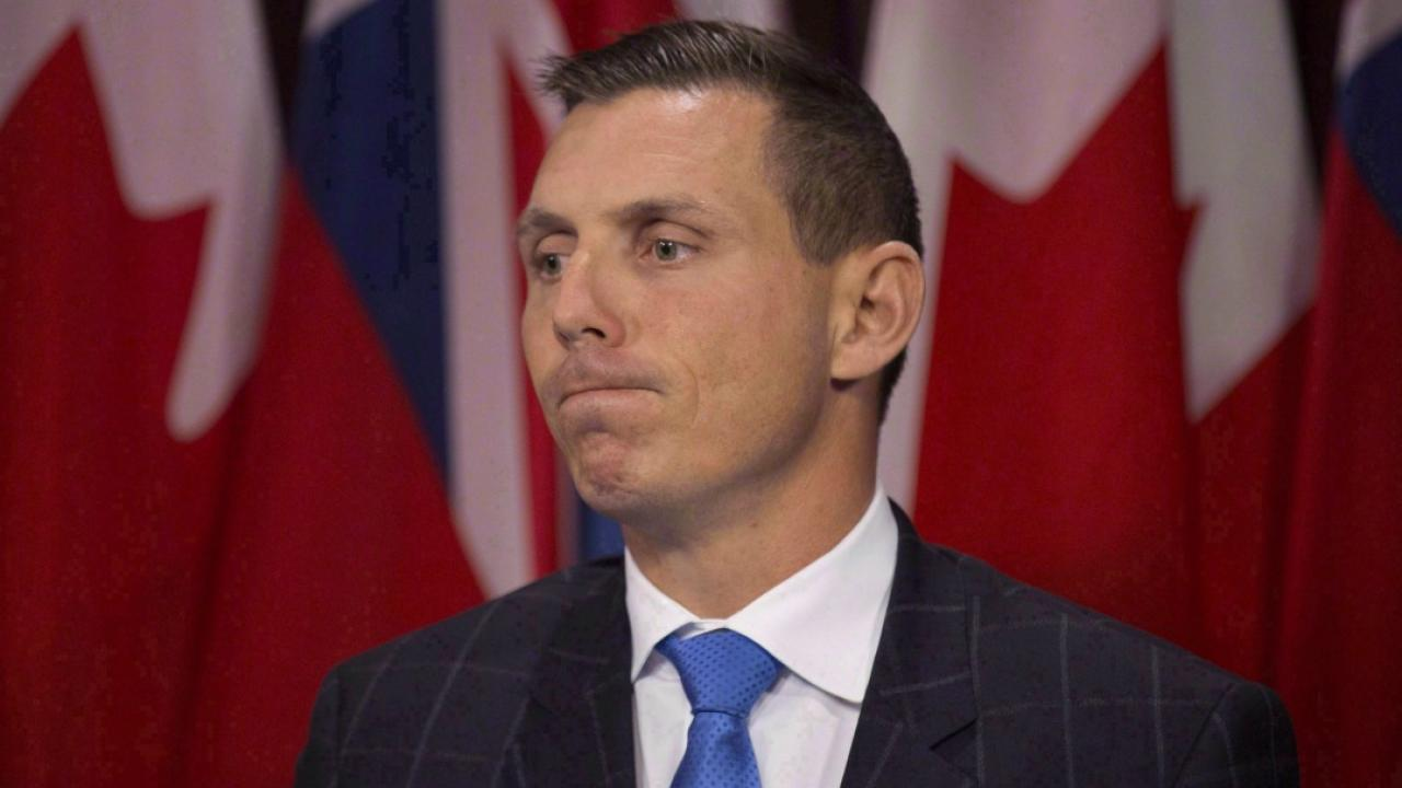 Ontario Conservative Leader Patrick Brown