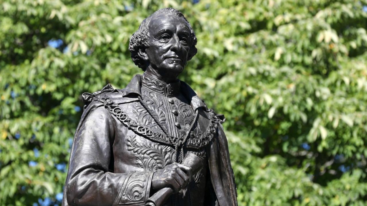 statue of Sir. John A. MacDonald