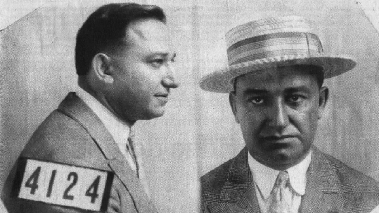 mugshot of Rocco Perri, an early 20th century bootlegger in Ontario