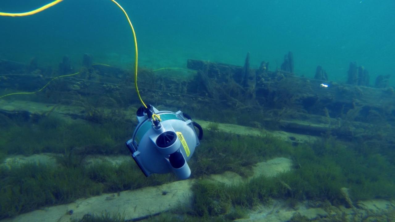 a submarine drone