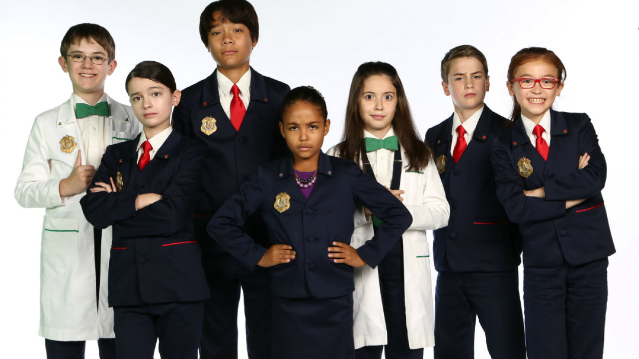 The cast of Odd Squad