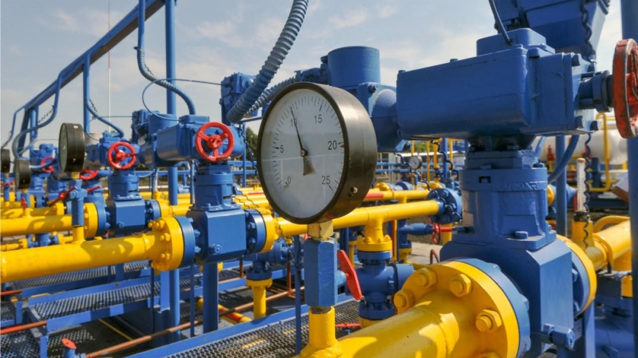 natural gas pressure gauge