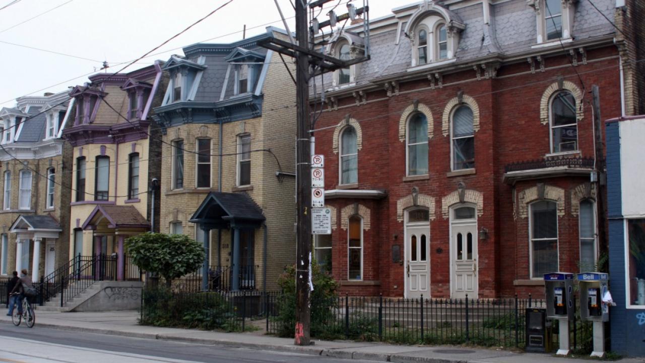 Toronto's row houses