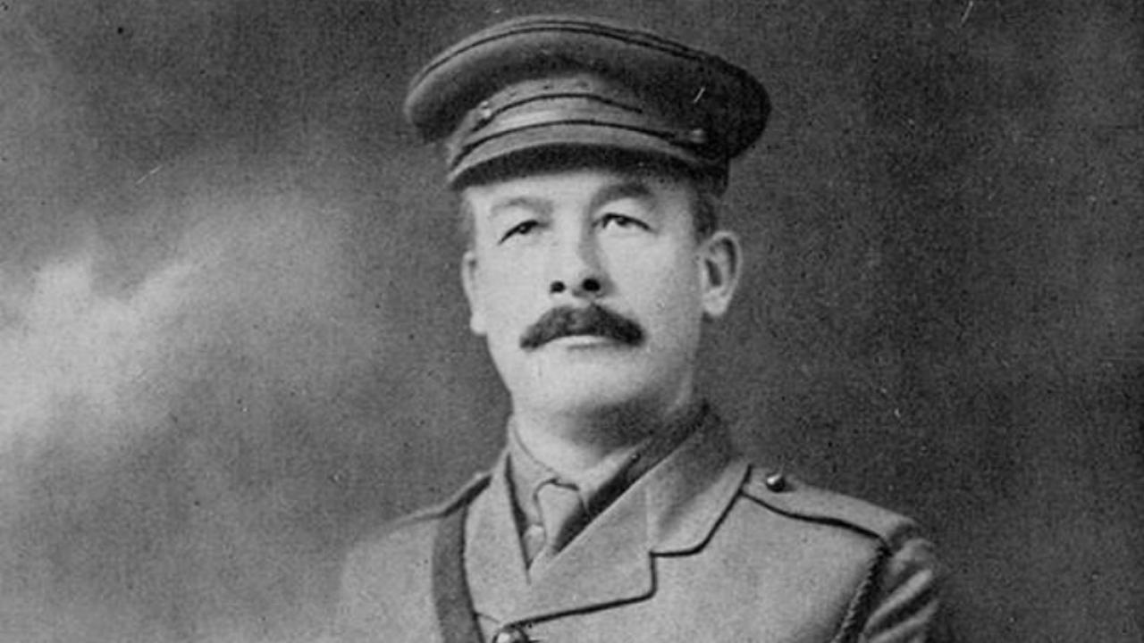 Samuel Sharpe in his military uniform.