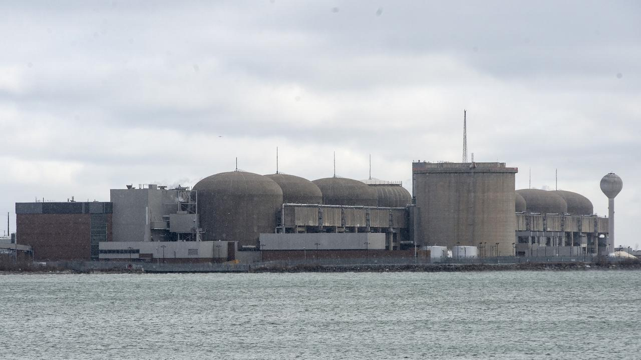 Pickering nuclear power plant