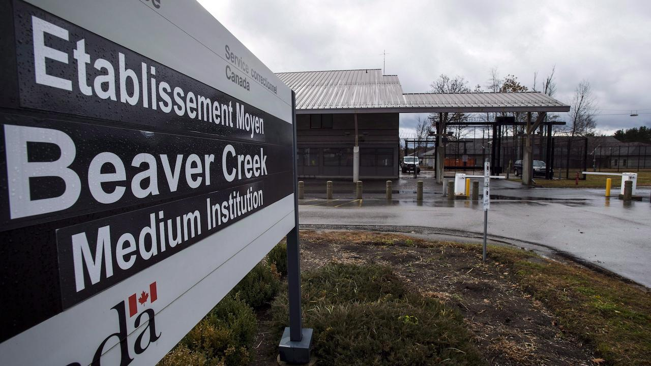 signage outside the Beaver Creek Institution