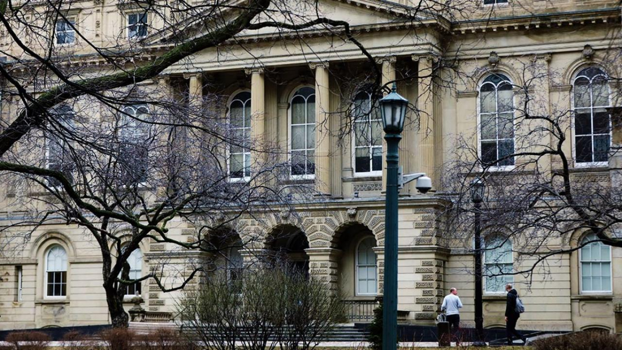 exterior view of Osgoode Hall