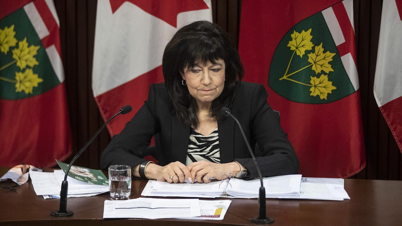 Ontario auditor general Bonnie Lysyk