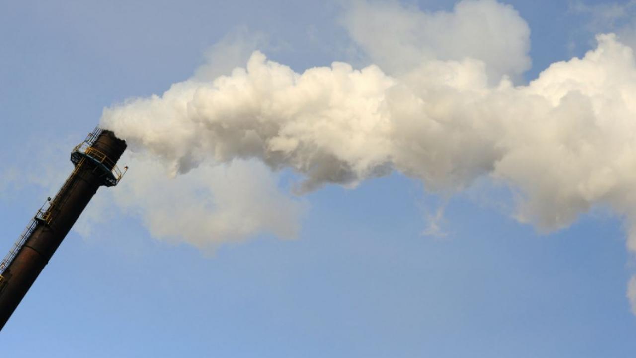 a smoke stack