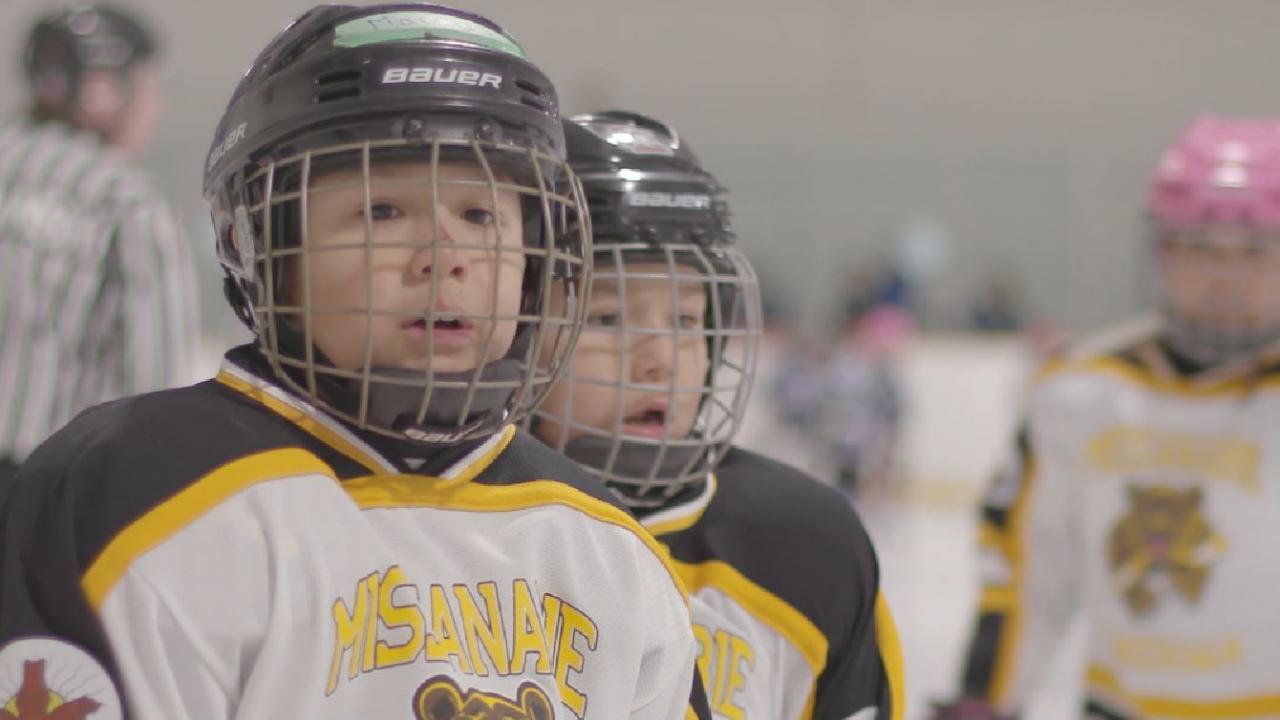 little league hockey players