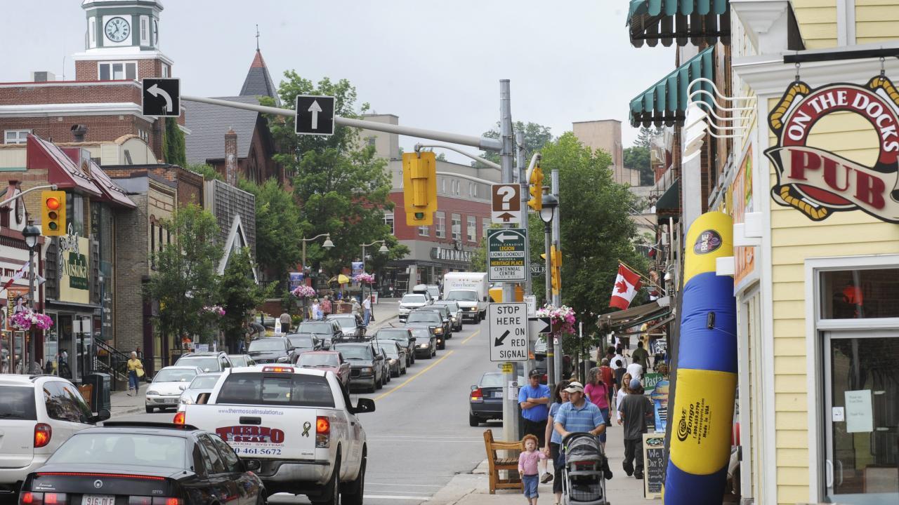 Hunstville street scene