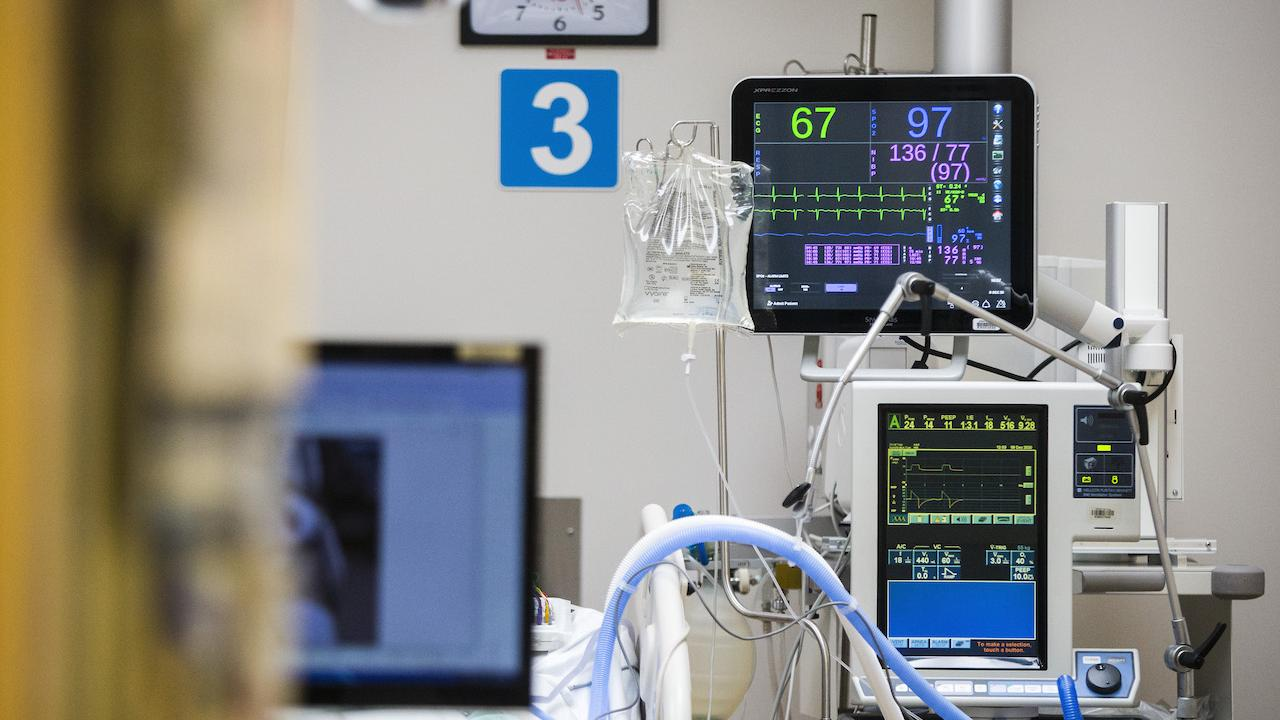 machines in an ICU