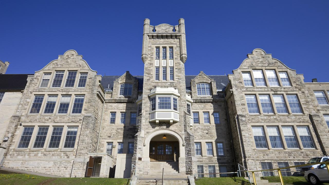 a historic Lakehead University building