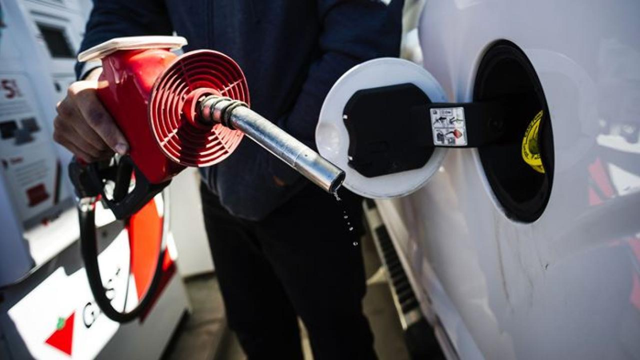 automobile gas tank