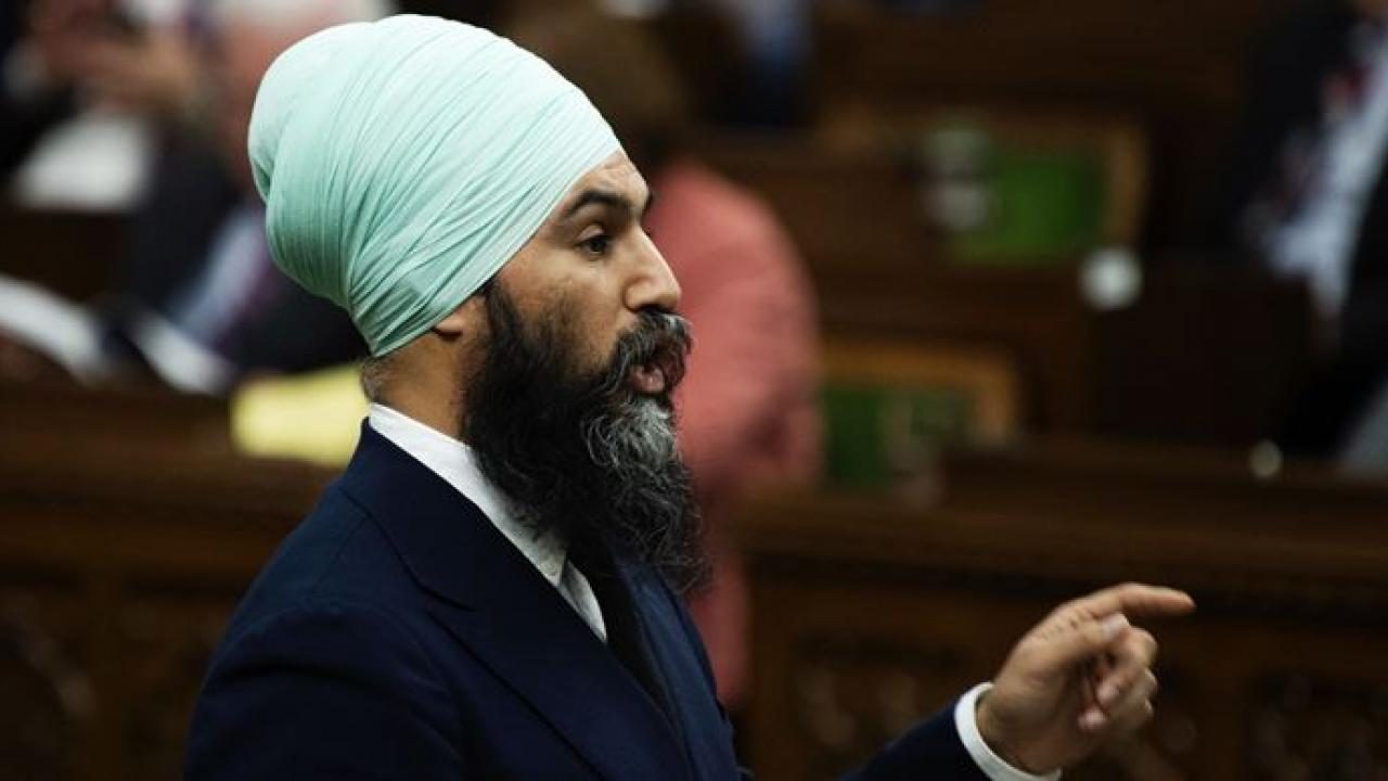 Federal NDP leader Jagmeet Singh