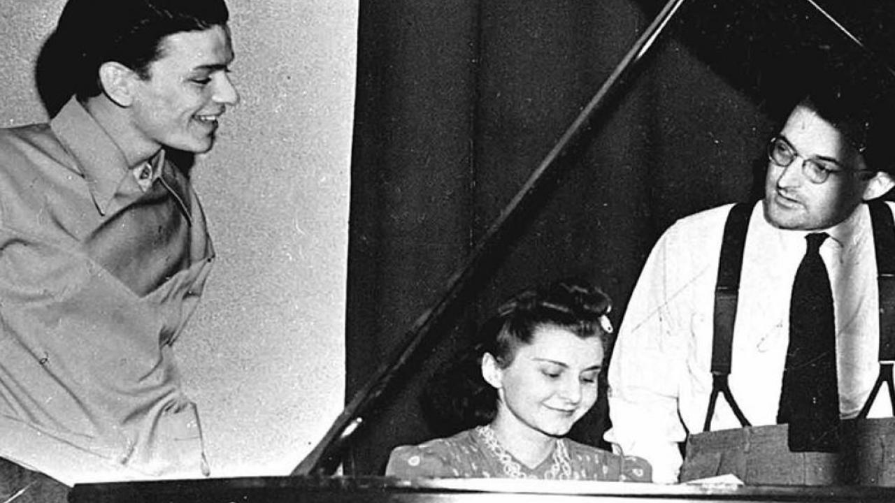 Frank Sinatra and Ruth Lowe