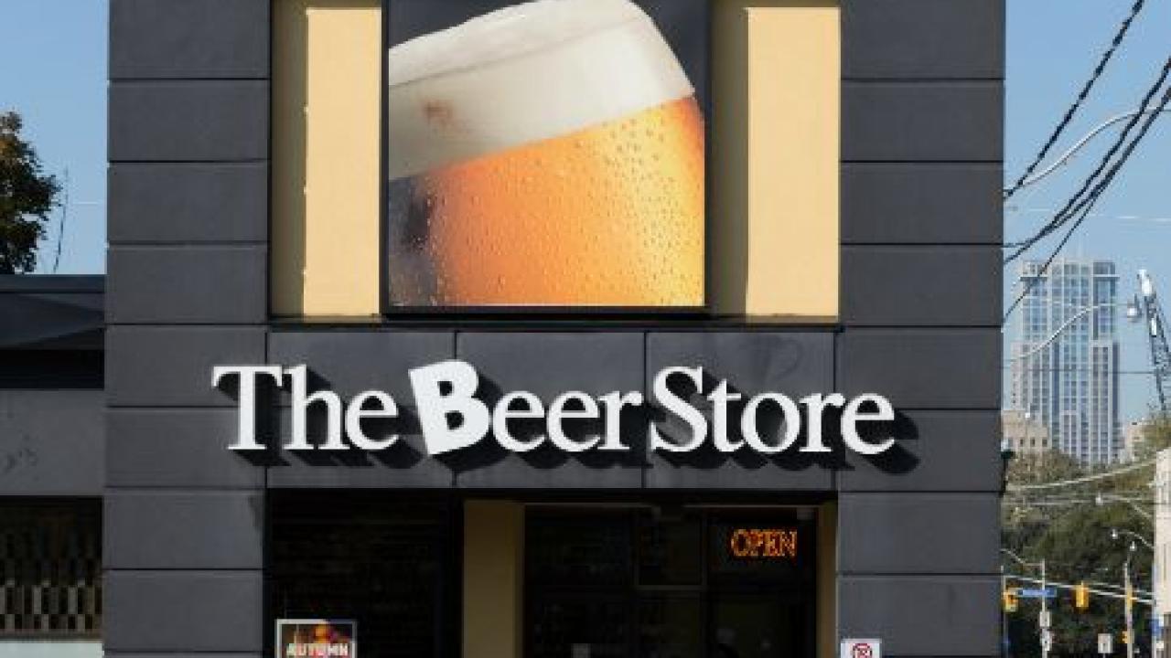Ontario beer store