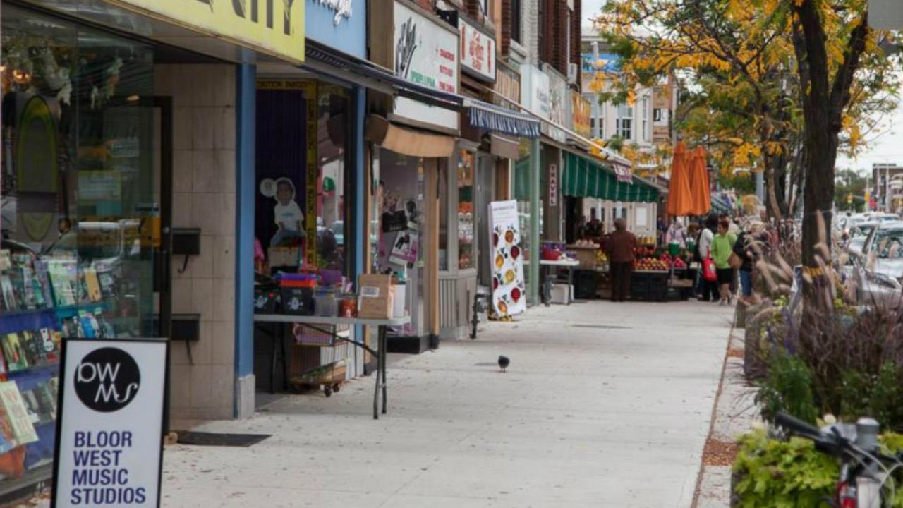 Bloor West Village in Toronto