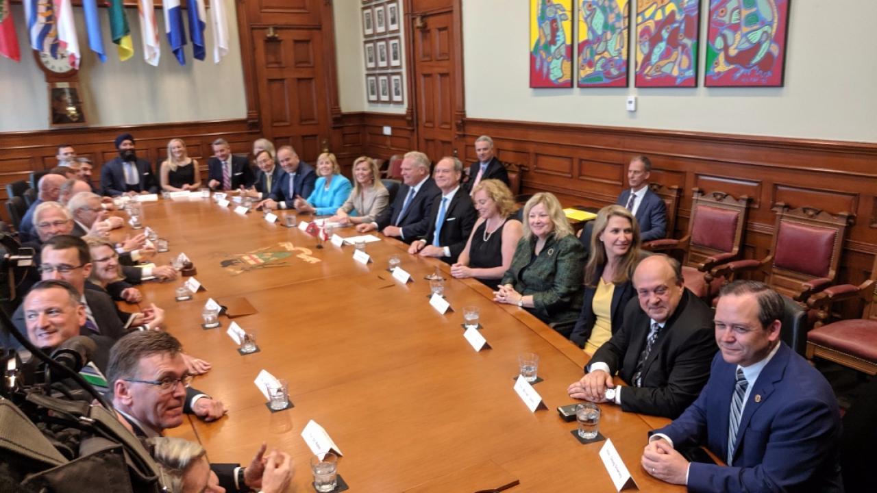 Ontario PC cabinet members