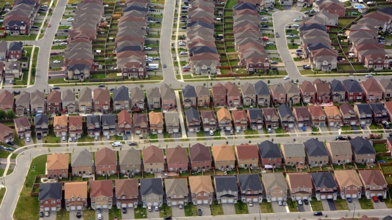 an Ontario subdivision