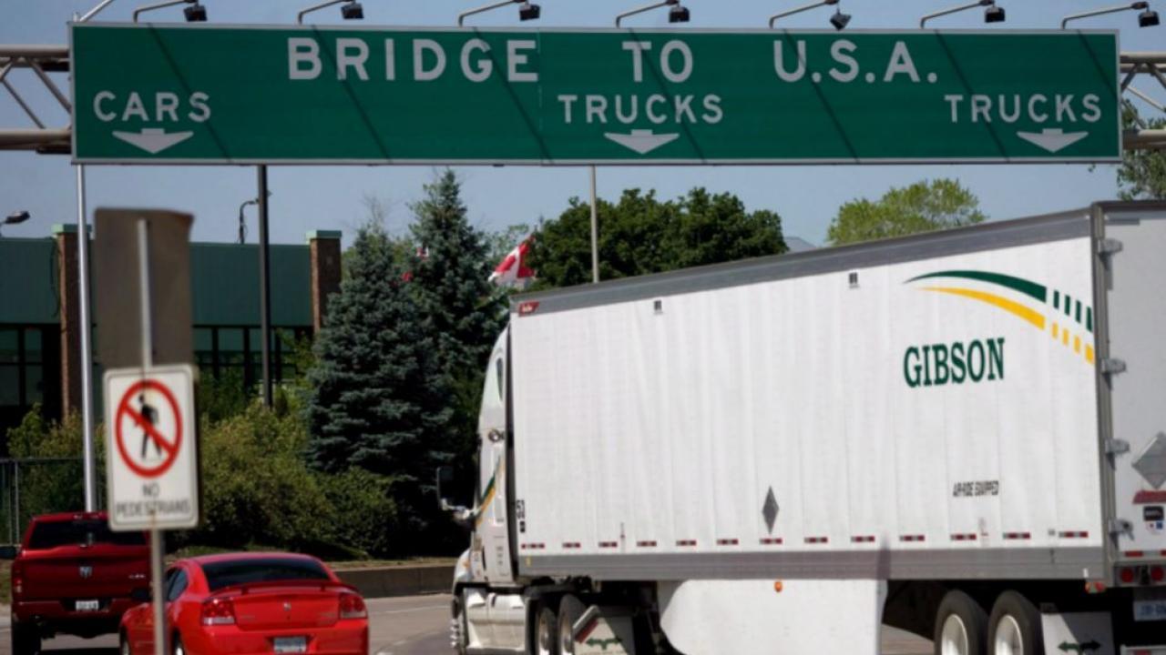 Canada/U.S. border traffic