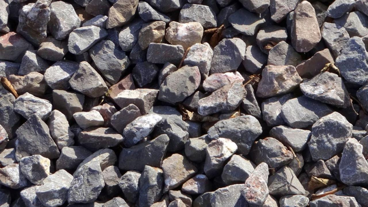 a group of stones