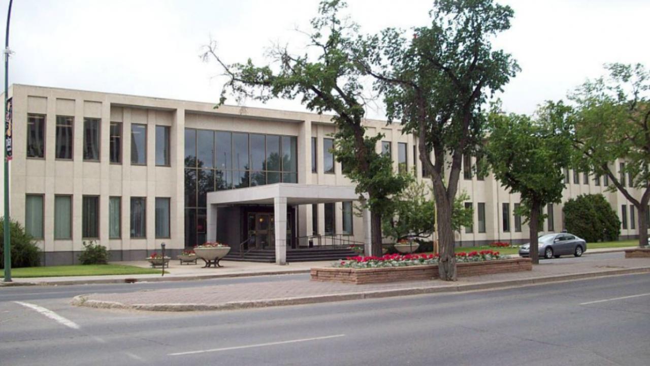 Regina Courthouse in Saskatchewan