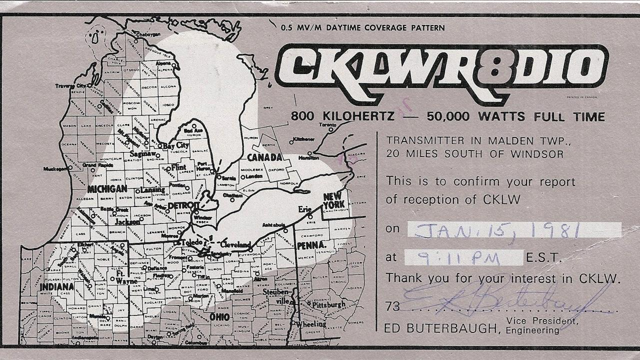 How Windsor's CKLW flouted the brand new CanCon rules