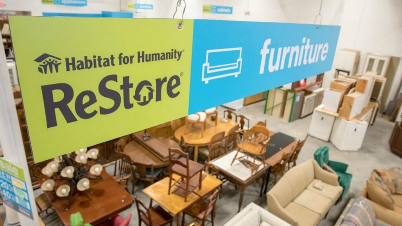 inside a Habitat for Humanity ReStore