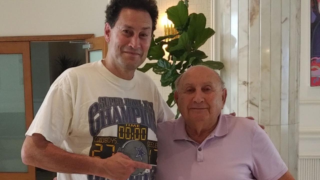Steve Paikin and Martin Baranek