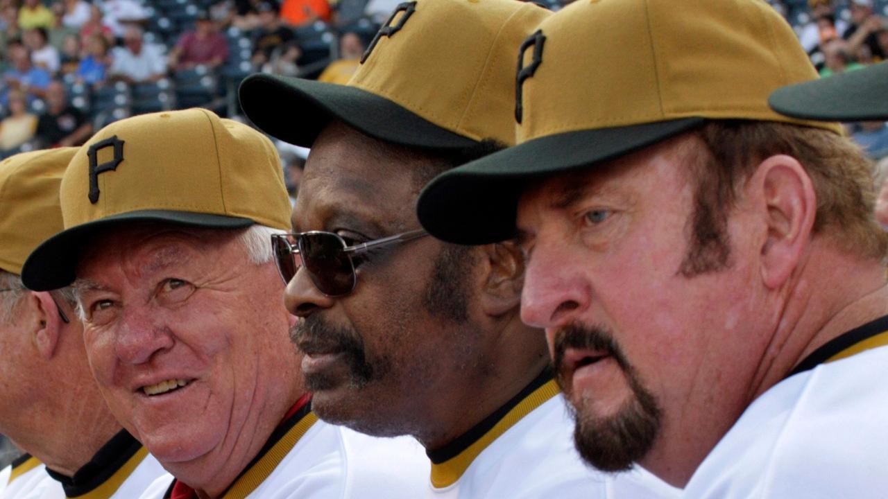 three ball players