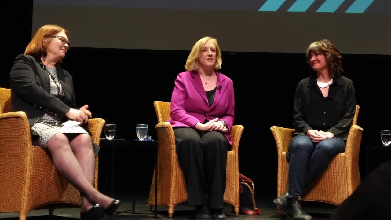 Jane Philpott, Lisa Raitt, and Megan Leslie