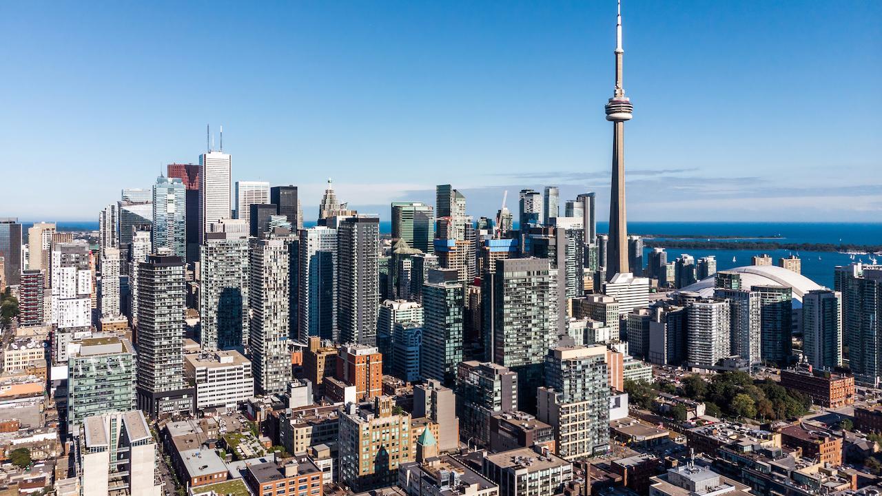 daytime shot of the Toronto skyline
