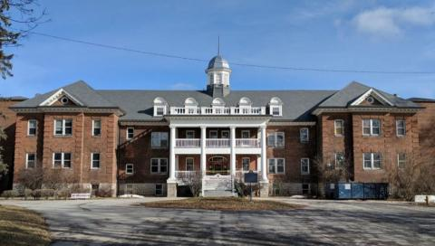 A former residential school in Brantford, Ontario