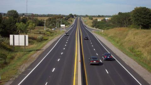 Highway 115 in Peterborough