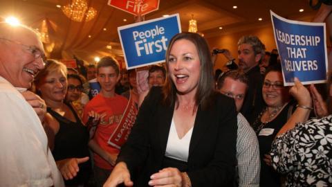 NDP candidate Catherine Fife