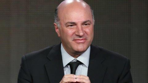 Headshot of Kevin O'Leary in a suit and tie