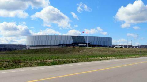 a velodrome in Milton, Ontario