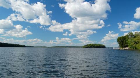 Rice Lake in Ontario