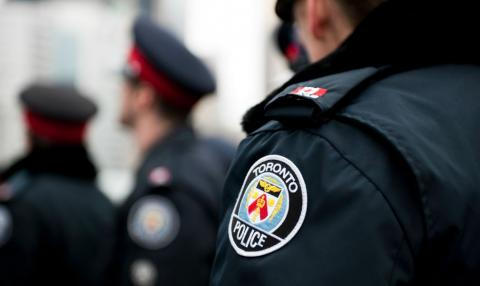 Toronto Police Service officers