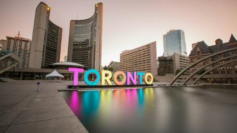 Toronto city hall.