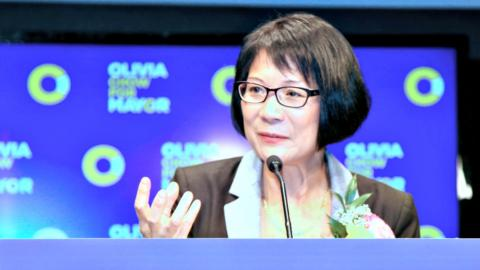 Olivia Chow in 2014.