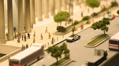 a streetscape