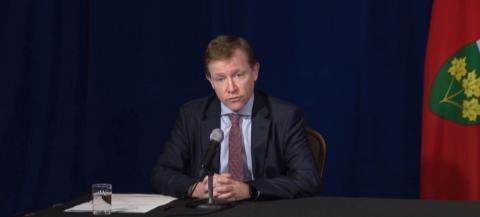 Matthew Anderson, CEO of Ontario Health