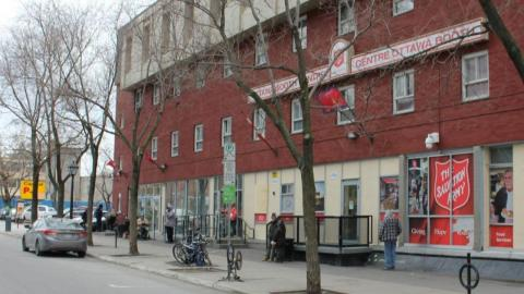 Salvation Army shelter in Ottawa