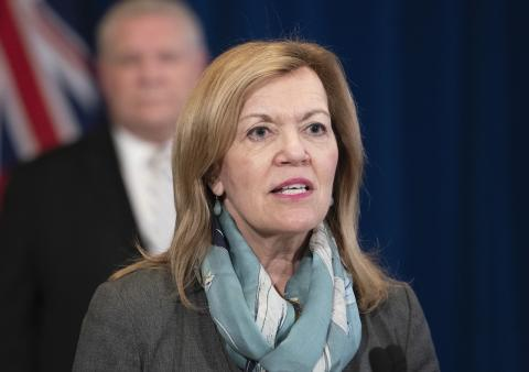 Health Minister Christine Elliott