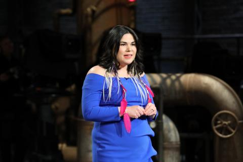 a woman appearing on the television show Dragon's Den