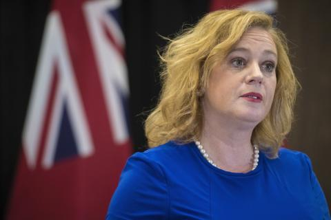 Lisa MacLeod, minister of tourism, culture, and sport