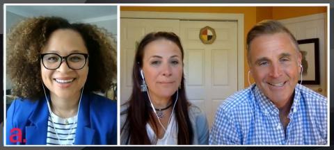 Nam Kiwanuka, Andrea Aragon, Sean McCann
